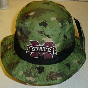 Mississippi State Bulldogs Camoflauge bucket hat
